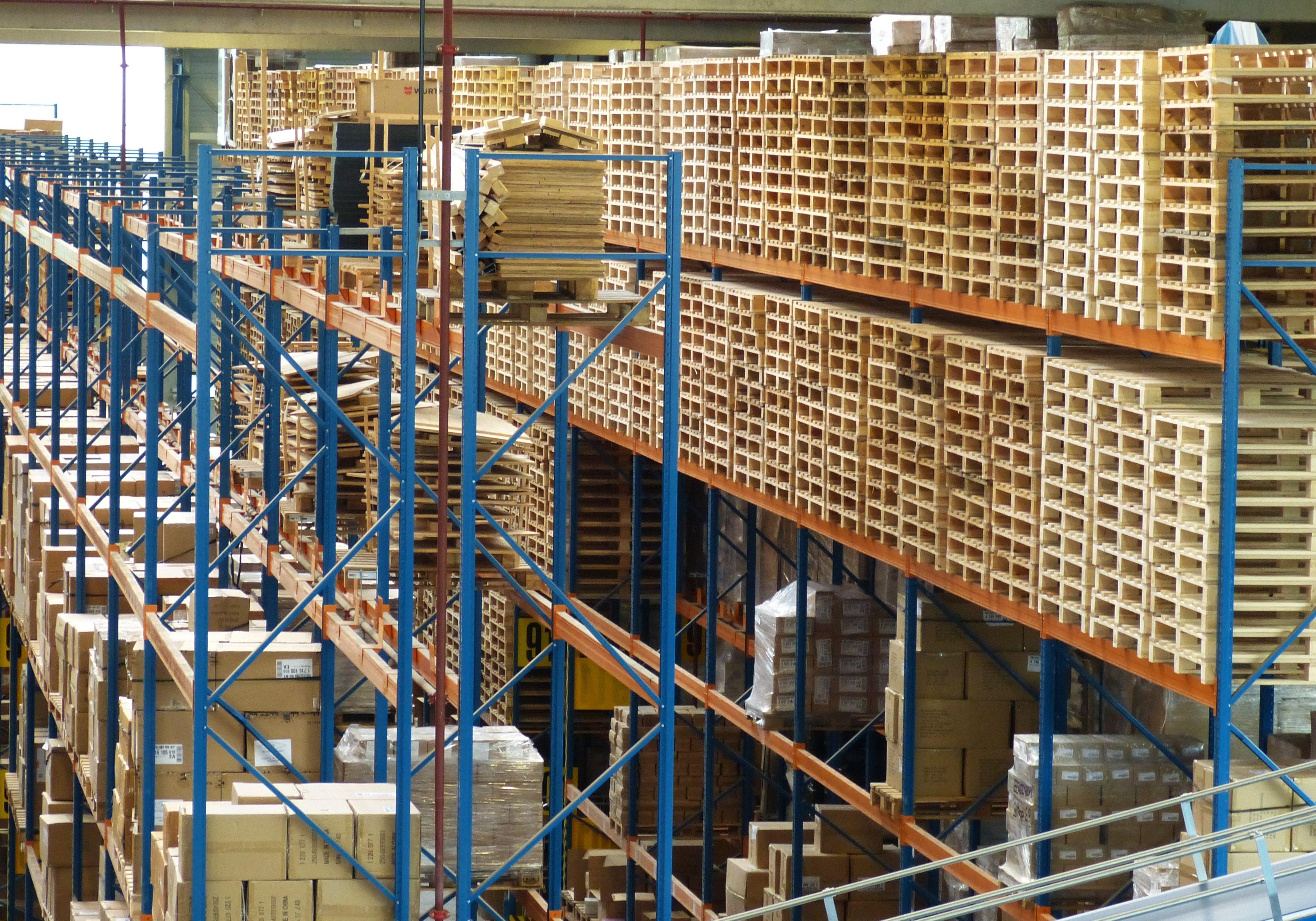 3PL Logistics Warehouse 852937